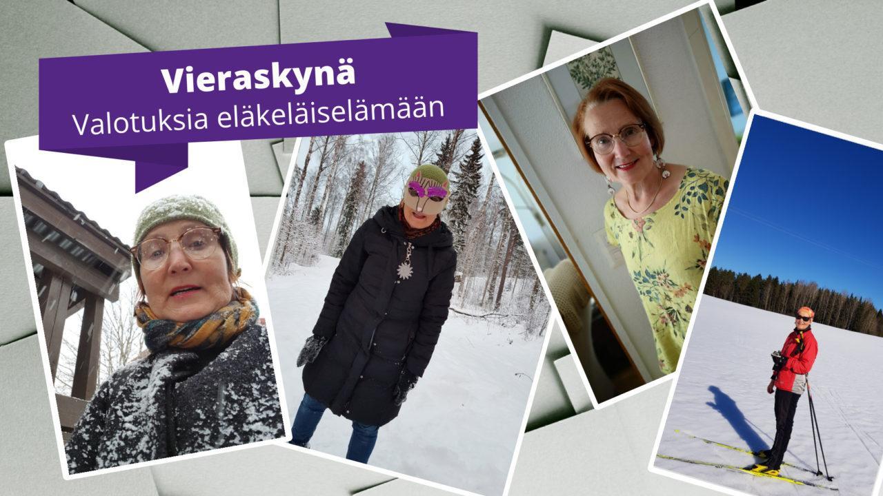 Kuvia Tuija Nummelan kotialbumista