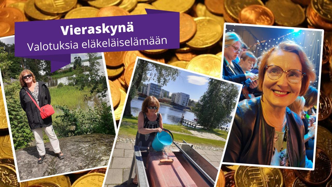 Kuvia Arja Jämsénin ja Tuija Nummelan kotialbumeista.